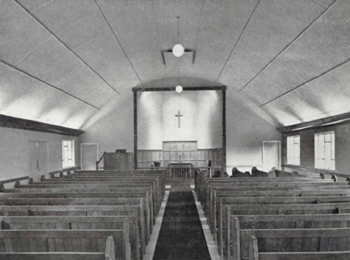 Interior of the 1959 chapel [MB759]